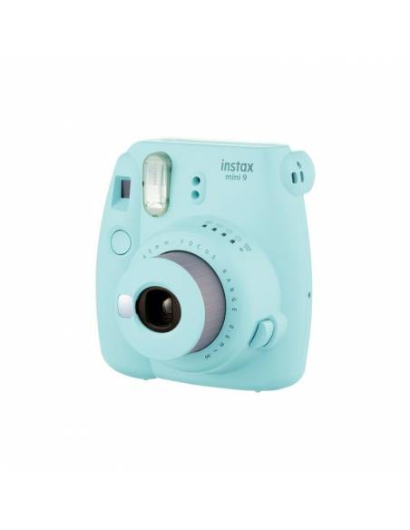 FUJIFILM INSTAX MINI  9 Ice Blue (KIT: Funda + carga 10 fotos)