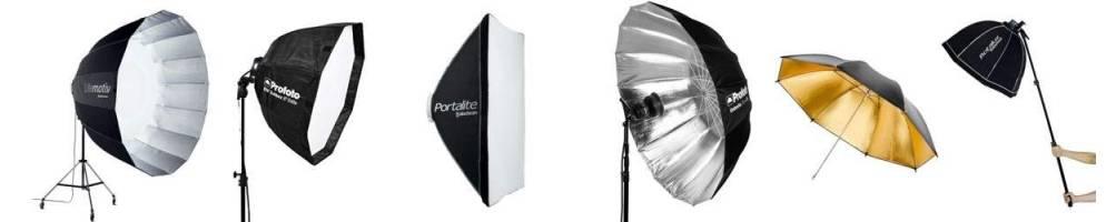 Paraguas translucidos, soft, plata y negros, en varios tamaños y para todos los bolsillos